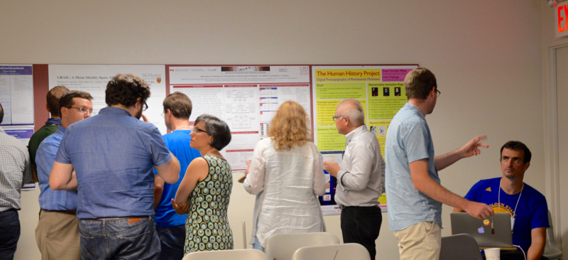 DLfM 2016: discussion over posters