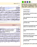 A prototype for editing source inventories, showing piece titles and partbook images