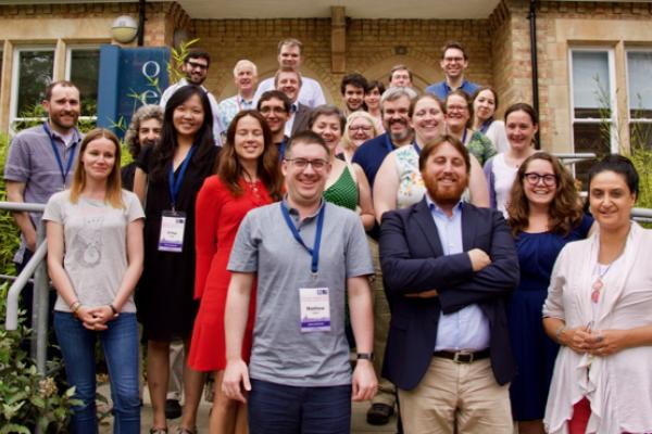 Digital Musicology workshop at the Digital Humanities at Oxford Summer School 2017 –photo of participants