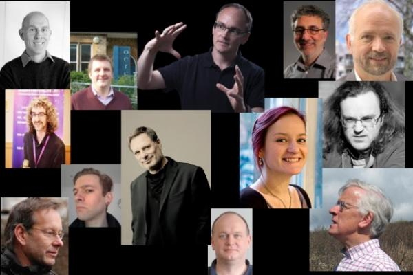 Photo montage of some of the people contributing to the project