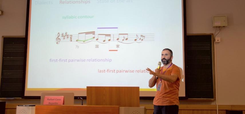 DLfM 2017: Rafael Caro Repetto presenting
