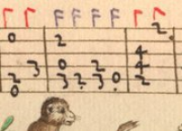 Detail from Capirola MS (early 16th lute tablature))