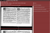 The SLoBR interface, joining our Linked Data from Early Music Online with the BBC Early Music Programme